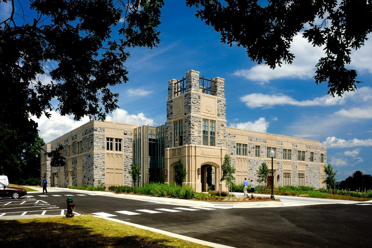 Visitors and Undergraduate Admissions Center – LEED Certified (2012)