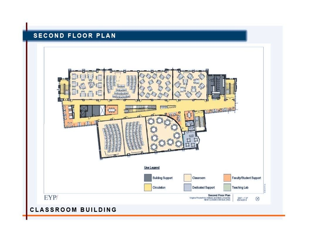 Classroom Building Facilities Department Virginia Tech