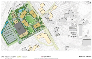 Human & Agricultural Biosciences Precinct Plan provided by Lord, Aeck & Sargent.