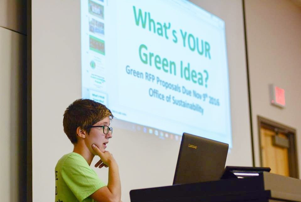 What's YOUR Green Idea?