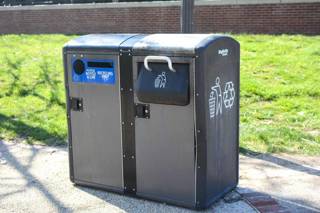 Dual Recycling-Trash Collector