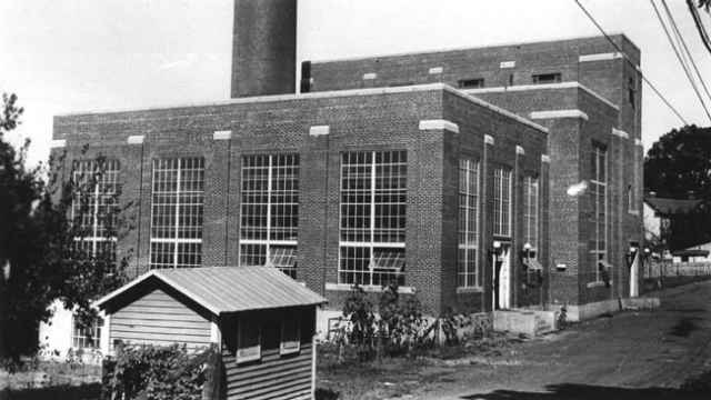 Central Steam Plant in 1931